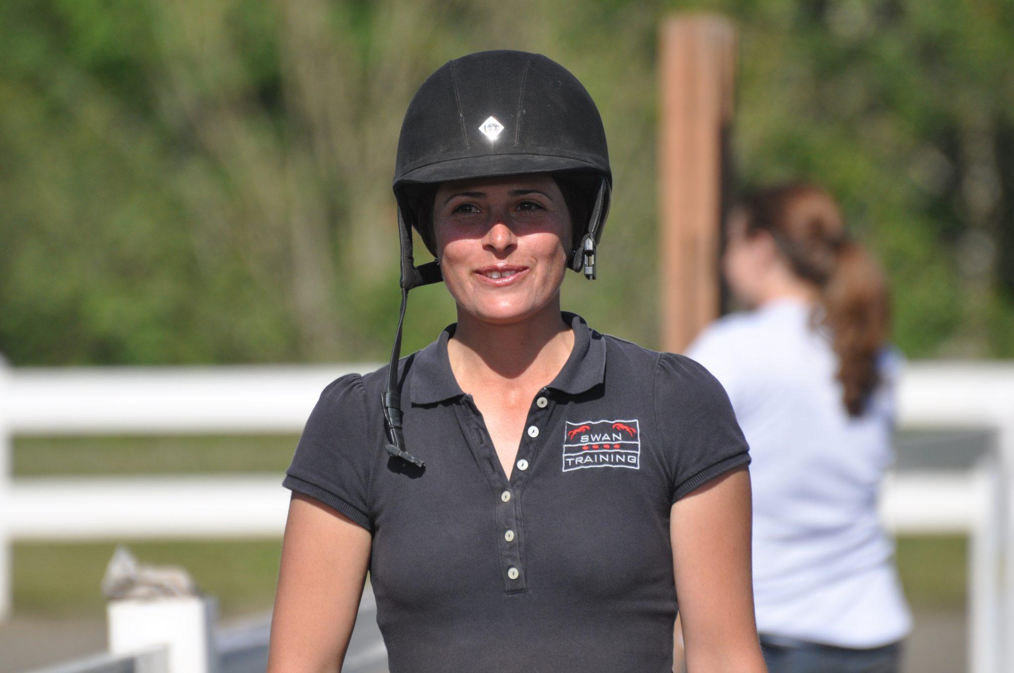 Beka Swan, owner of Swan Training - riding, hunter jumper wilsonville, OR